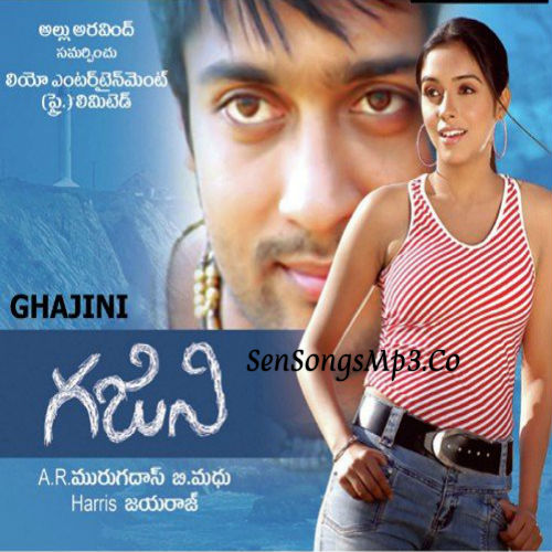 Ghajini telugu movie songs surya asin songs