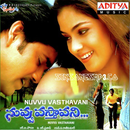 nuvvu vasthavani songs posters images audio cd rip cover