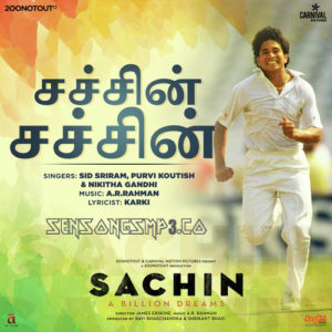 Sachin-A Billion Dreams (2017) Tamil Songs Posters HQ