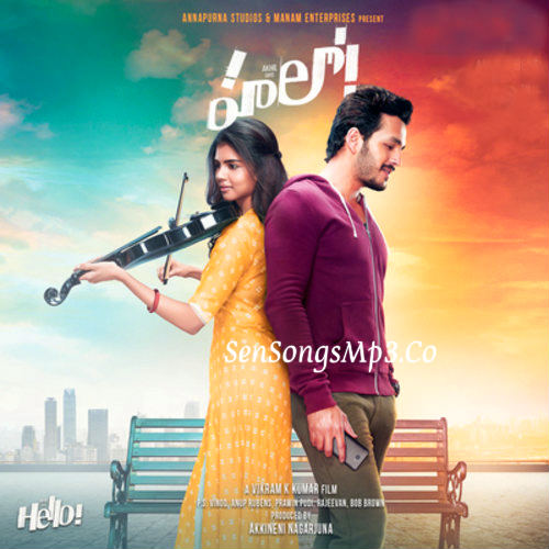 akhil hello songs download album cd rip cover 2017 telugu