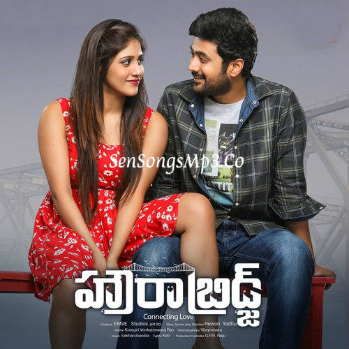 Howrah Bridge 2018 telugu movie songs posters images album cd cover Rahul Ravindran, Manali Rathod & Chandini Chowdary