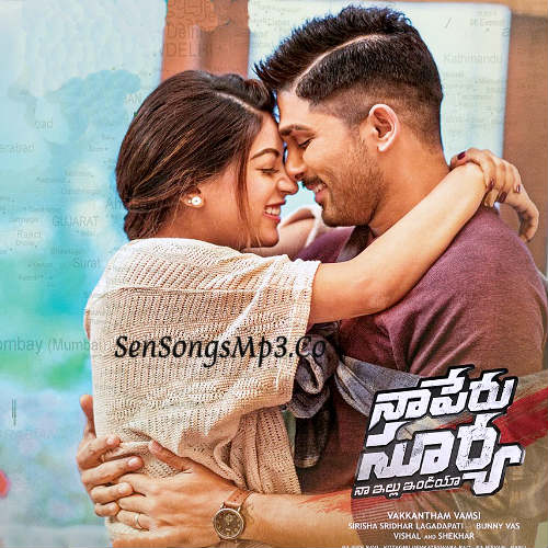 Naa Peru Surya Naa Illu India 2018 Telugu Movie SOngs Download posters images album cd cover Allu Arjun