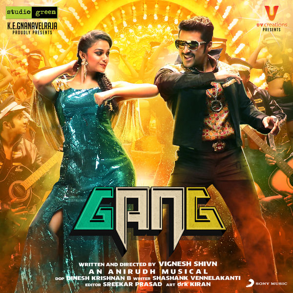 gang 2018 telugu movie songs surya keerthy suresh