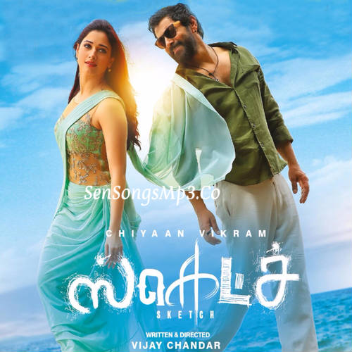 sketch 2018 tamil movie songs posters images album cd cover vikram tamanna hot sex