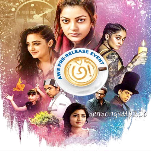 awe 2018 telugu movie songs download posters images kajal aggarwal nithya menon , regina cassandra