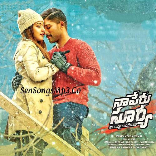 Na Peru Surya naa illu india songs allu arjun anu emanuel ,naa peru surya movie labum cd cover posters images