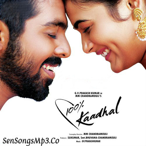 100 % kadhal songs download GV Prakash Kumar ,Shalini Pandey