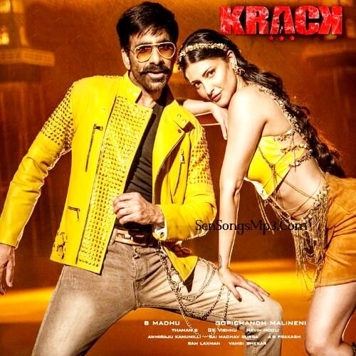 Krack 2020 telugu movie songs download ravi teja shruthi hasan